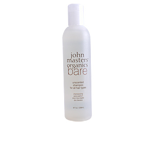 Champú desenredante BARE unescented shampoo for all hair types John Masters Organics