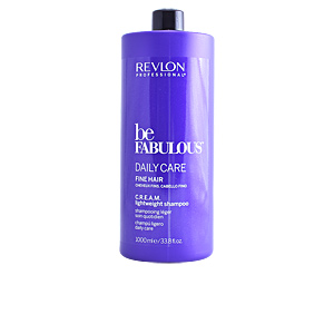 Champú volumen BE FABULOUS C.R.E.A.M. lightweight shampoo Revlon