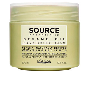 Hair mask for damaged hair SOURCE ESSENTIELLE nourishing balm sesame oil L'Oréal Professionnel