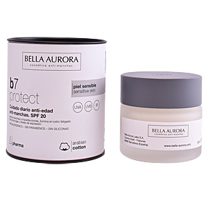 Anti blemish treatment cream B7 PROTECT cuidado diario anti-edad y anti-manchas SPF20 Bella Aurora