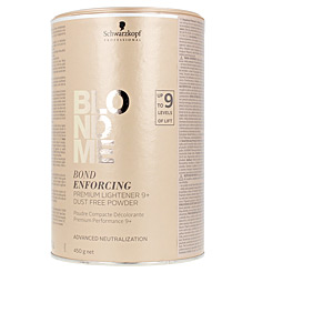 Bleaches BLONDME bond enforcing premium lightener 9+ powder Schwarzkopf