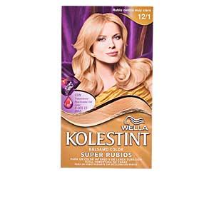 Haarfarbe KOLESTINT tinte bálsamo color #12,1 castaño mediano Wella Kolestint