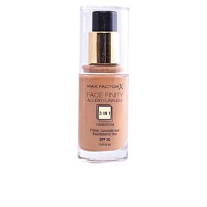 FACEFINITY ALL DAY FLAWLESS 3 IN 1 foundation #90-toffee