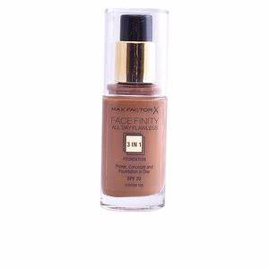 FACEFINITY ALL DAY FLAWLESS 3 IN 1 foundation #100-suntan