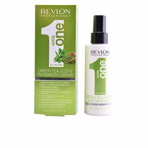 Tratamiento antiencrespamiento UNIQ ONE GREEN TEA hair treatment Revlon