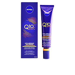 Antifatigue facial treatment Q10+ anti-arrugas noche energizante Nivea