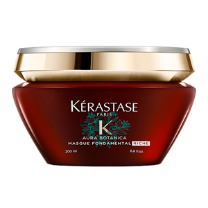 Hair mask for damaged hair AURA BOTANICA masque fondamental riche Kérastase