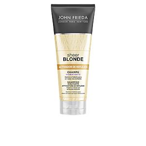 Colocare shampoo SHEER BLONDE champú hidratante cabellos rubios John Frieda