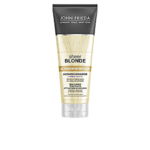 Conditioner for colored hair SHEER BLONDE acondicionador hidratante cabellos rubios John Frieda