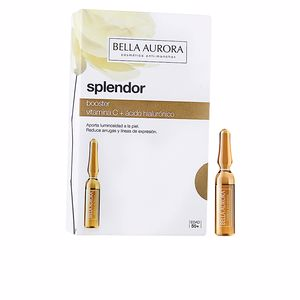 Anti aging cream & anti wrinkle treatment SPLENDOR 10 BOOSTER vitamina c + hialurónico Bella Aurora