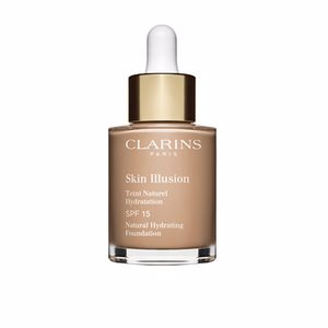 Foundation makeup SKIN ILLUSION teint naturel hydratation Clarins