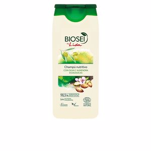 Moisturizing shampoo BIOSEI OLIVA & ALMENDRAS ECOCERT champú Lida