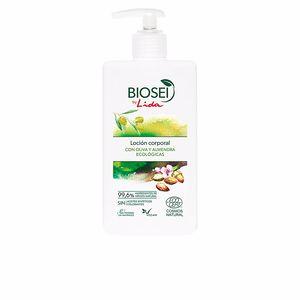 Hidratante corporal BIOSEI loción corporal con oliva y almendra Lida