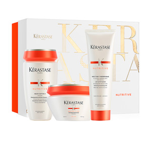 Hair moisturizer treatment NUTRITIVE BAIN SATIN 2 SET Kérastase