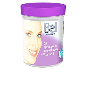 Make-up remover BEL PREMIUM discos húmedos ojos aceite Bel