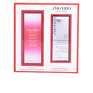 Anti-Aging Creme & Anti-Falten Behandlung BIO-PERFORMANCE GLOW REVIVAL SERUM SET Shiseido