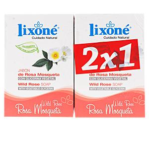 Limpeza facial - Sabonete ROSA MOSQUETA jabón piel sensible Lixone