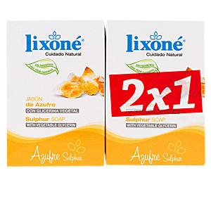 Face scrub - exfoliator - Facial cleanser - Hand soap AZUFRE jabón piel grasa-puntos negros  Lixone