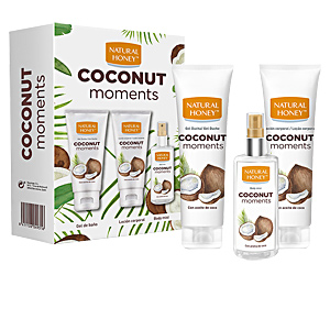 Gel bain COCONUT MOMENTS  COFFRET Natural Honey