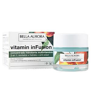 Bella Aurora, VITAMIN INFUSION concentrado hidratante multivitamínico 50 ml