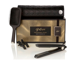 Hair straightener GOLD smooth styling set