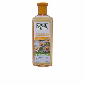 Champú hidratante SENSITIVE champú camomila Natur Vital