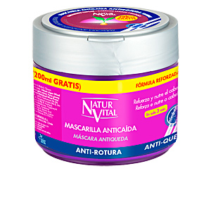 Hair mask for damaged hair MASCARILLA ANTICAÍDA tratamiento capilar antirotura Naturvital