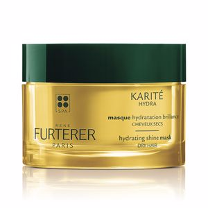 Hair mask for damaged hair KARITE HYDRA hydrating shine mask dry hair Rene Furterer