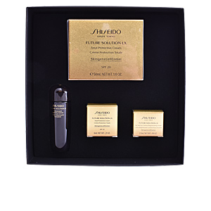 Anti-Aging Creme & Anti-Falten Behandlung FUTURE SOLUTION LX  SET Shiseido