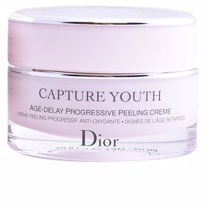 Anti aging cream & anti wrinkle treatment CAPTURE YOUTH age-delay progressive peeling crème Dior