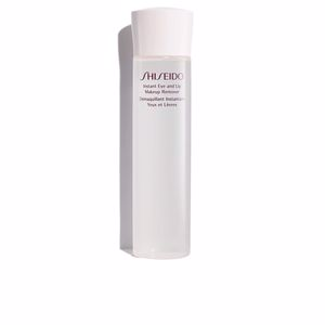 Removedor de maquiagem THE ESSENTIALS instant eye & lip makeup remover Shiseido