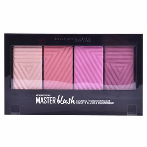 Colorete MASTER BLUSH PALETTE color & highlighting kit Maybelline