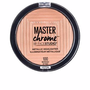 Highlighter makeup MASTER CHROME metallic highlighter Maybelline