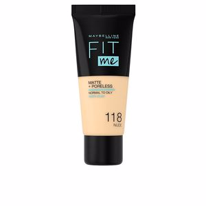 FIT ME MATTE+PORELESS foundation #118-nude