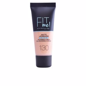 Base de maquillaje FIT ME! MATTE+PORELESS foundation Maybelline