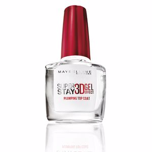 Esmalte de uñas SUPERSTAY nail 3D gel effect top coat Maybelline