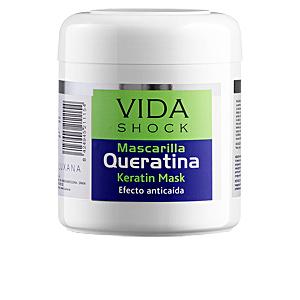 Mascarilla con keratina VIDA SHOCK anticaída mascarilla queratina Luxana