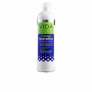 Anti hair fall shampoo VIDA SHOCK anticaída champú queratina Luxana