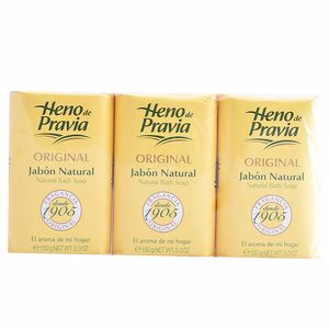 Shower gel ORIGINAL JABON NATURAL  SET Heno De Pravia