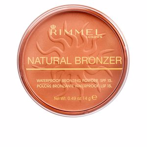 Pó bronzeador NATURAL BRONZER SPF15 Rimmel London