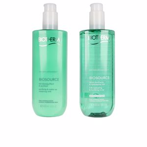 Removedor de maquiagem BIOSOURCE DUO NORMAL SKIN LOTE Biotherm