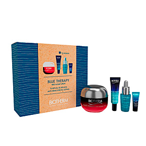 Hautpflege-Set BLUE THERAPY RED ALGAE UPLIFT SET Biotherm