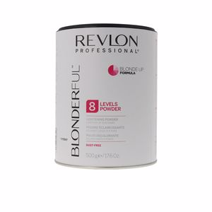 Bleaches BLONDERFUL BLONDE UP lightening powder 8 levels Revlon