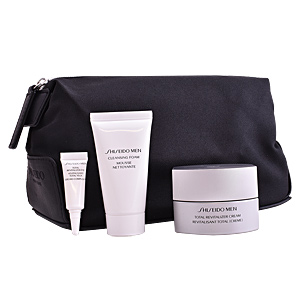 Anti-Aging Creme & Anti-Falten Behandlung MEN TOTAL REVITALIZER SET Shiseido