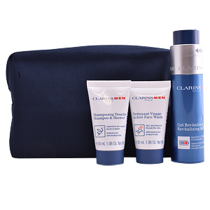 Face moisturizer MEN GEL REVITALISANT SET Clarins