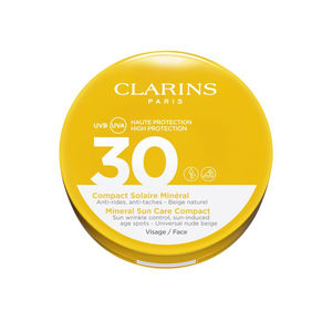 Faciales SOLAIRE compact minéral SPF30 Clarins