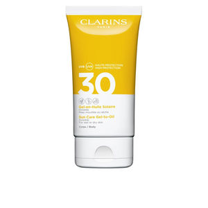 Body SOLAIRE gel en huile invisible SPF30 Clarins