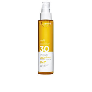 Corps SOLAIRE huile en brume SPF30 Clarins