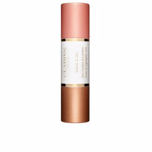 Iluminador GLOW 2 GO blush & highlighter duo Clarins