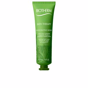 Traitements et crèmes pour les mains BATH THERAPY invigorating blend hydrating hands cream Biotherm